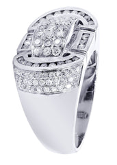 Mens Diamond Ring| 1.5 Carats| 14.05 Grams MEN'S RINGS FROST NYC