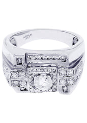 Mens Diamond Ring| 14.24 Carats| 14.24 Grams MEN'S RINGS FROST NYC