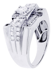 Mens Diamond Ring| 14.24 Carats| 14.24 Grams