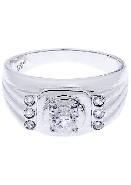 Mens Diamond Ring| 0.72 Carats| 7.77 Grams