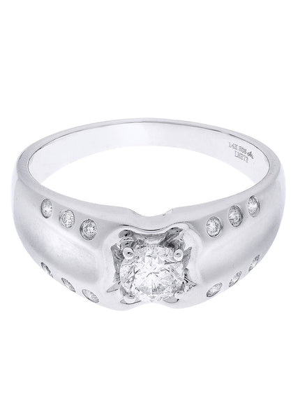 Mens Diamond Ring| 0.74 Carats| 5.52 Grams