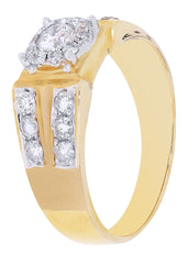 Mens Diamond Pinky Ring| 1.06 Carats| 5.71 Grams