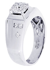 Mens Diamond Ring| 0.72 Carats| 9.45 Grams