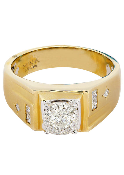 Mens Diamond Ring| 0.52 Carats| 9.55 Grams