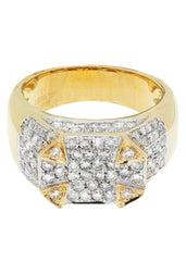 Mens Diamond Pinky Ring| 1.91 Carats| 11.81 Grams