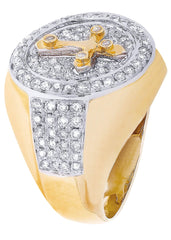 Mens Diamond Ring| 1.4 Carats| 13.97 Grams