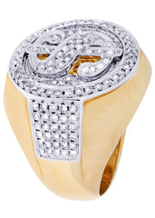 Mens Diamond Ring| 1.86 Carats| 19.37 Grams