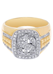 Mens Diamond Pinky Ring| 0.65 Carats| 9.88 Grams MEN'S RINGS FROST NYC