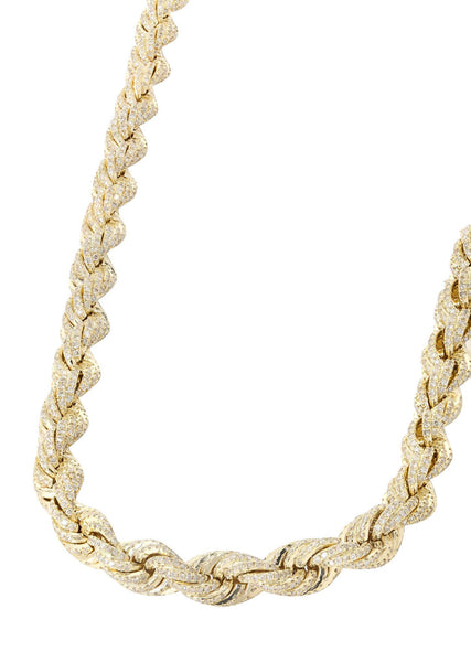 Rope Chain | 26.72 Carats | 15 Grams| 8Mm| 28 Inches