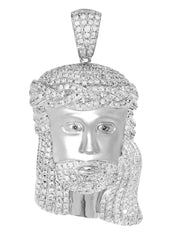 Diamond Jesus Piece | 64.06 Grams | 6.3 Carats