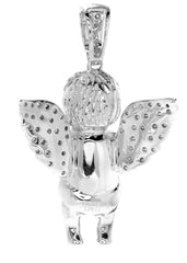 Diamond Angel Pendant | 10.14 Grams | 0.81 Carats