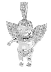 Diamond Angel Pendant | 10.14 Grams | 0.81 Carats MEN'S PENDANTS FROST NYC