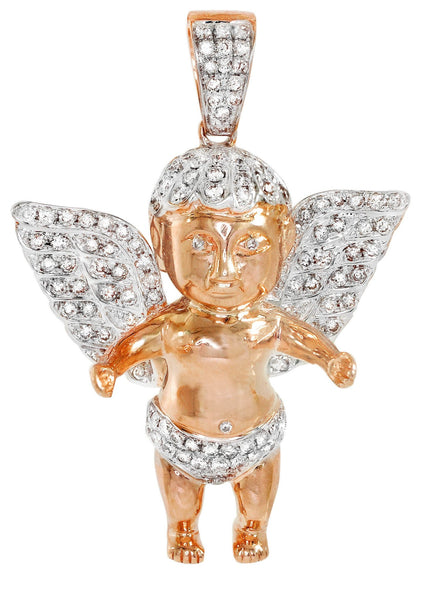 Diamond Angel Pendant | 16.36 Grams | 1.3 Carats