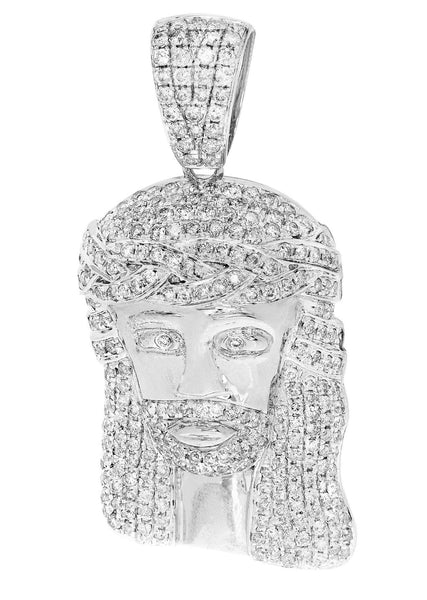 Diamond Jesus Piece | 15.02 Grams | 3.12 Carats