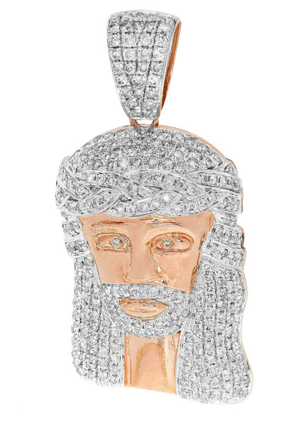 Diamond Jesus Piece | 18.86 Grams | 3.34 Carats