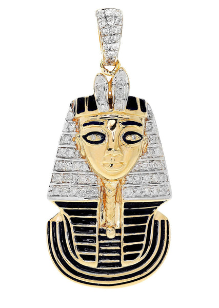 Diamond Pharoh Pendant | 15.91 Grams | 0.57 Carats