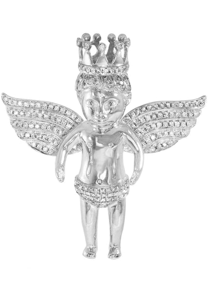 Diamond Angel Pendant | 31.37 Grams | 2.54 Carats