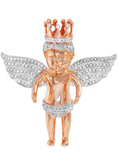 Diamond Angel Pendant | 32.43 Grams | 2.58 Carats