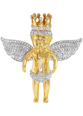 Diamond Angel Pendant | 30.22 Grams | 2.56 Carats