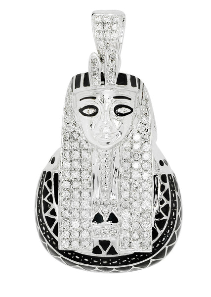 Diamond Pharoh Pendant | 21.76 Grams | 1.54 Carats