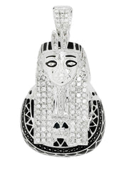 Diamond Pharoh Pendant | 21.76 Grams | 1.54 Carats MEN'S PENDANTS FROST NYC