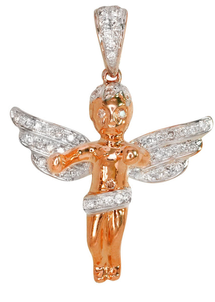 Diamond Angel Pendant | 4.73 Grams | 0.58 Carats