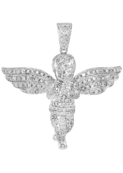 Diamond Angel Pendant | 16.13 Grams | 2.82 Carats