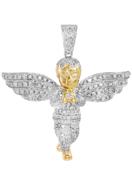 Diamond Angel Pendant | 16.03 Grams | 2.85 Carats