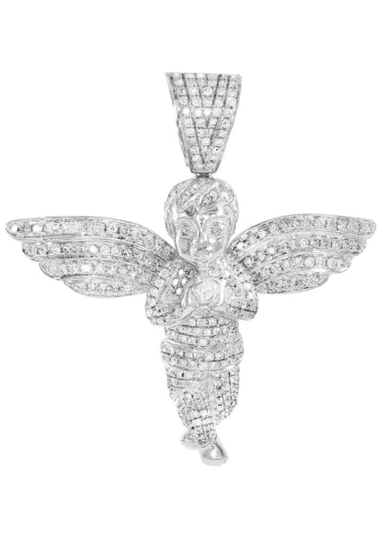 Diamond Angel Pendant | 26.69 Grams | 5.04 Carats