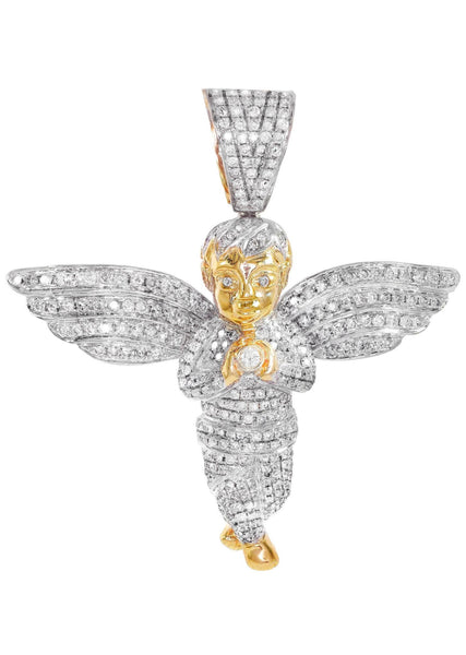 Diamond Angel Pendant | 26.34 Grams | 4.55 Carats