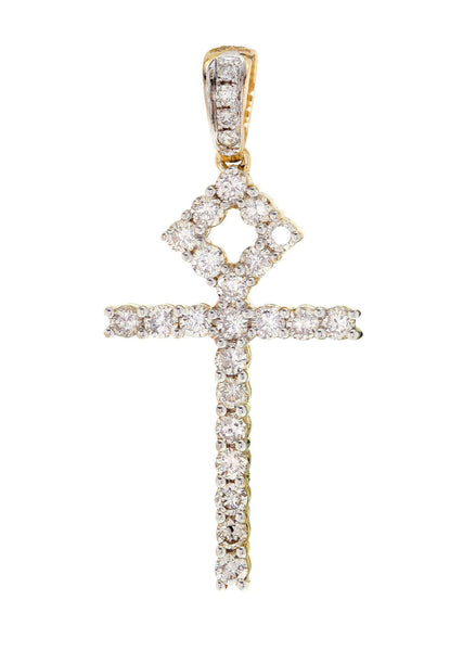 Diamond Ankh Pendant | 0.94 Carats | 2 Grams