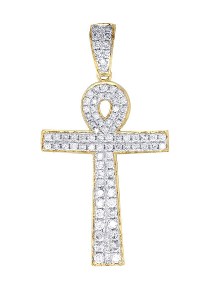 Diamond Cross Pendant | 1.02 Carats | 2.34 Grams