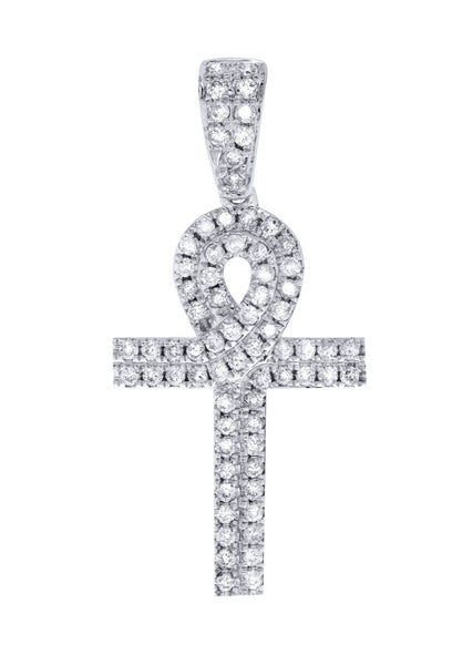 Diamond Ankh Pendant | 0.71 Carats | 2.18 Grams