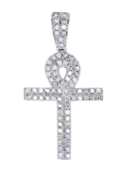 Diamond Ankh Pendant | 0.74 Carats | 2.14 Grams