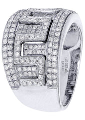 Mens Diamond Ring| 1.19 Carats| 11.28 Grams