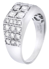 Mens Diamond Ring| 1.66 Carats| 7.43 Grams MEN'S RINGS FROST NYC