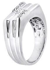Mens Diamond Ring| 0.28 Carats| 8.54 Grams