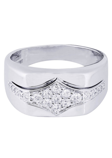 Mens Diamond Ring| 0.51 Carats| 12.43 Grams
