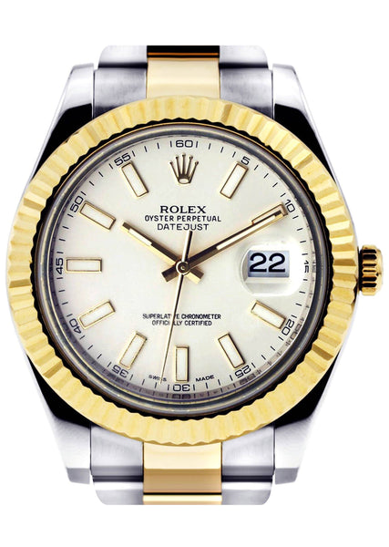 Rolex Datejust 2 | 18K Yellow Gold | 41 Mm