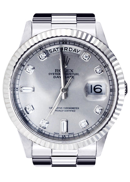 Rolex Day-Date | 18K White Gold | 36 Mm