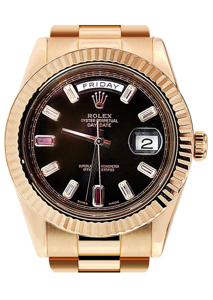 Rolex Day-Date 2 | 18K Rose Gold
