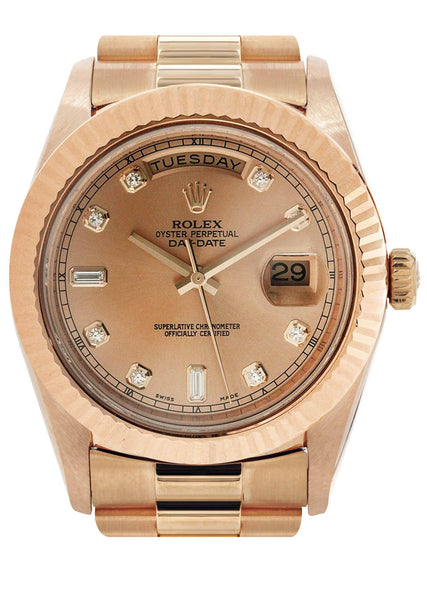 Rolex Day-Date 2 | 18K Rose Gold | 41 Mm