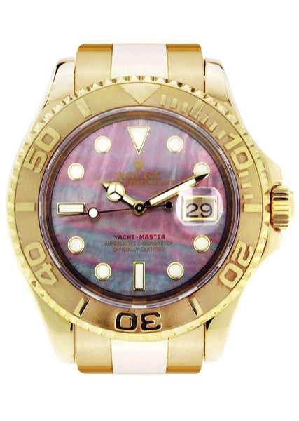 Rolex Yacht Master | Yellow Gold | 40 Mm