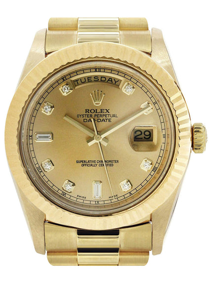 Rolex Day-Date 2 | 18K Yellow Gold | 41 Mm