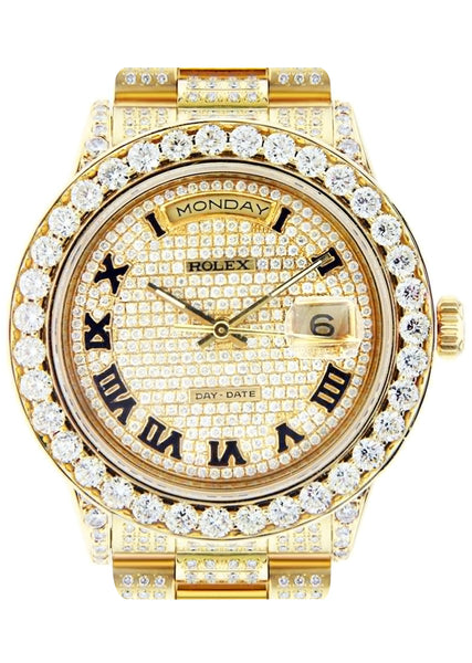 Diamond Rolex Day-Date | 18K Yellow Gold | 36 Mm