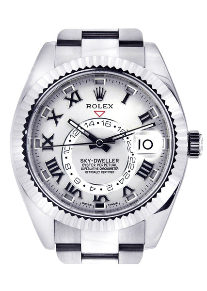 Rolex Sky Dweller | 18K White Gold | 42 Mm