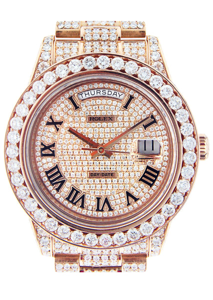 Diamond Rolex Day-Date 2 | 18K Pink Gold | 41 Mm