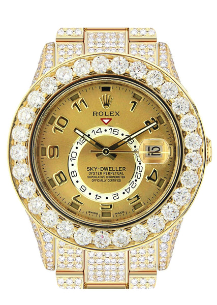 Rolex Sky Dweller | 18K Yellow Gold | 42 Mm