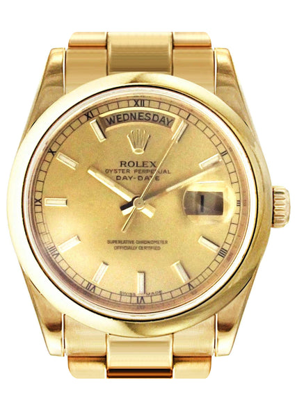 Rolex Day-Date | 18K Yellow Gold | 36 Mm