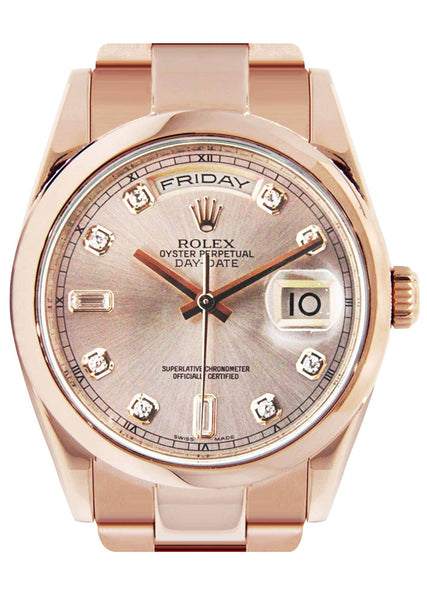 Rolex Day-Date | 18K Pink Gold | 36 Mm